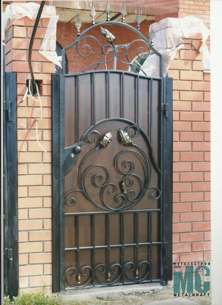 Кованые ворота и калитки – фото