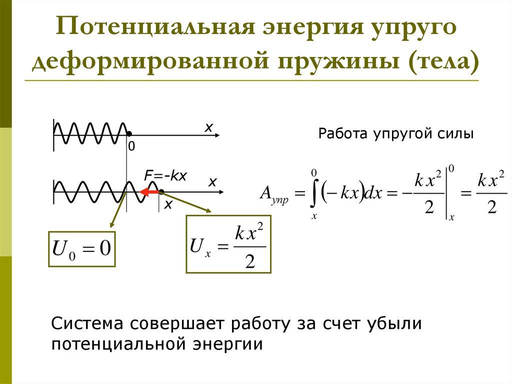 Энергия кинетическая: формула, определение. как найти кинетическую энергию молекулы, поступательного движения, пружины, тела, молекулы газа?
