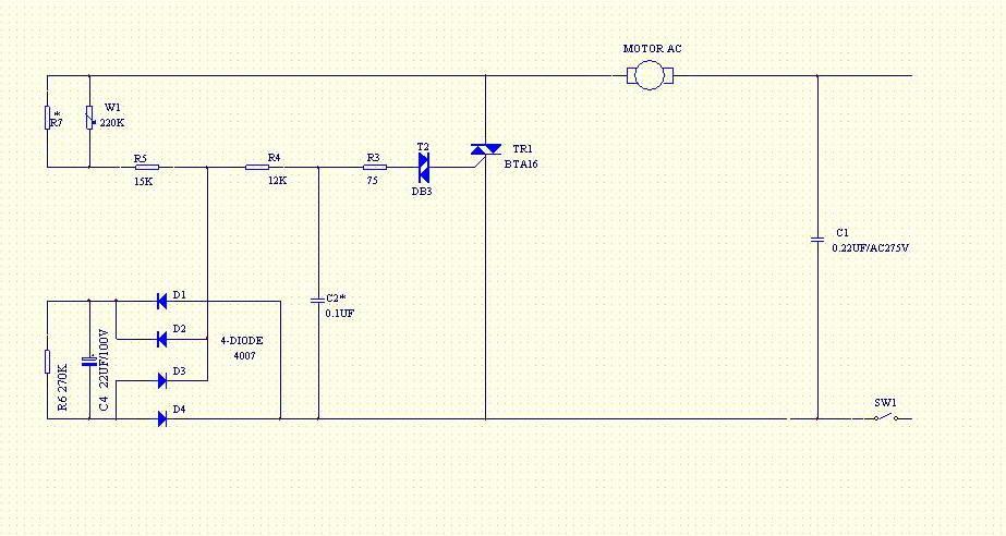 Электрическая схема шлифовальной машинки. принципиальная электрическая схема болгарки. правила пользования болгаркой и профилактическое обслуживание