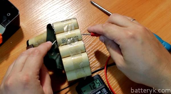 Проверяем аккумулятор шуруповерта мультиметром   auto-gl.ru