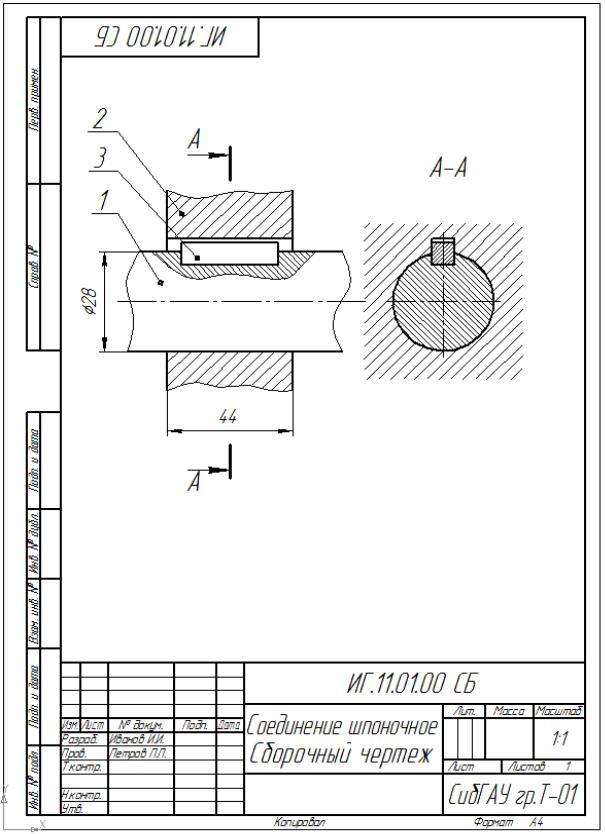 4.1. сборка и разборка шпоночных, шлицевых соединений – ассоциация eam