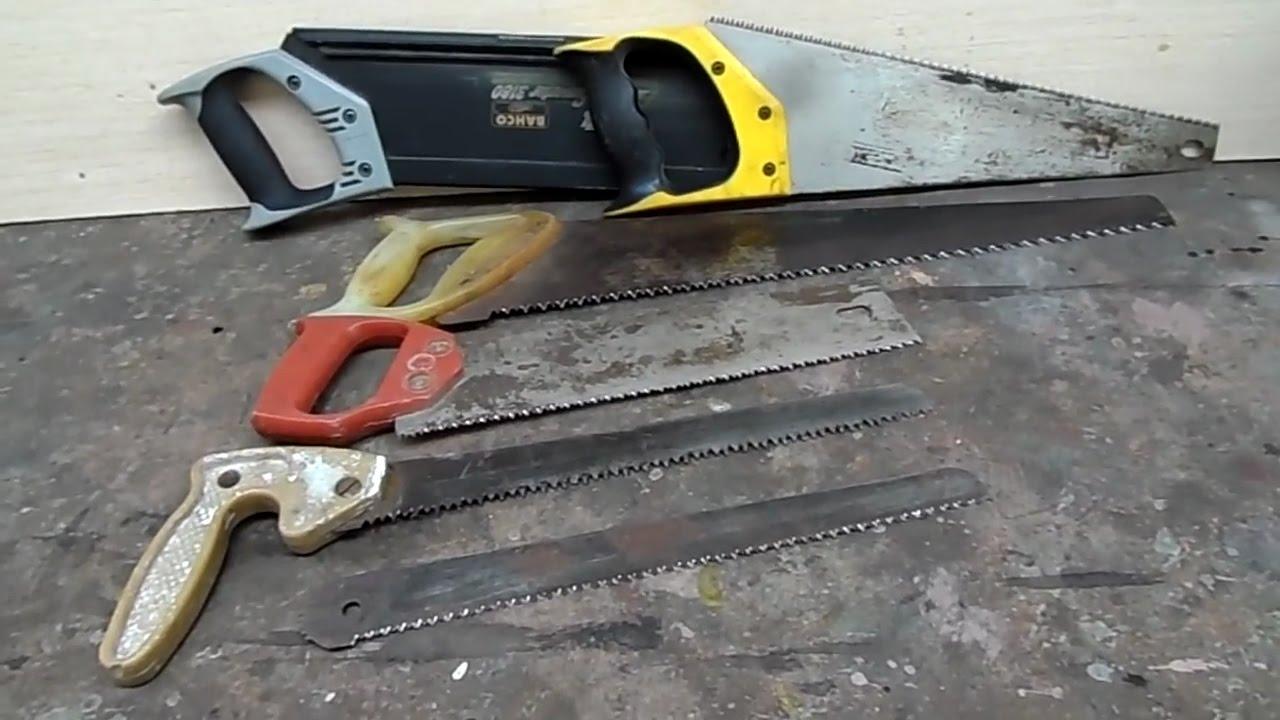 Заточить ножовку по дереву: способы и рекомендации