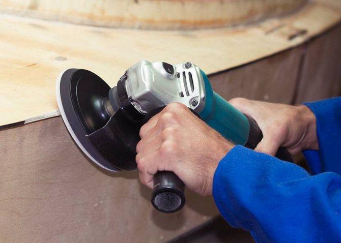 Насадки на болгарку для шлифования, полировки, браширования