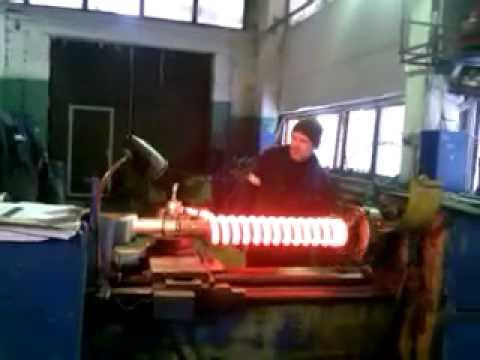 Как навить пружину на токарном станке? - справочник по металлообработке и оборудованию