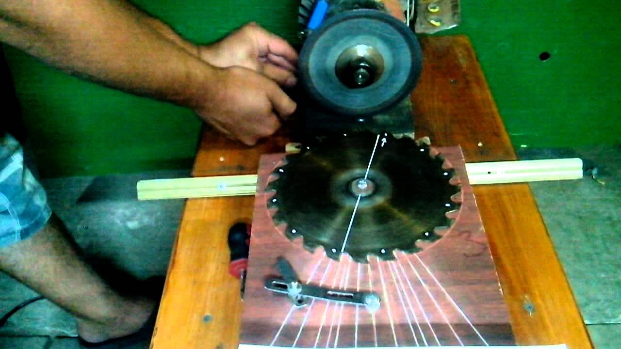 Как точить пильный диск по дереву   все про металл