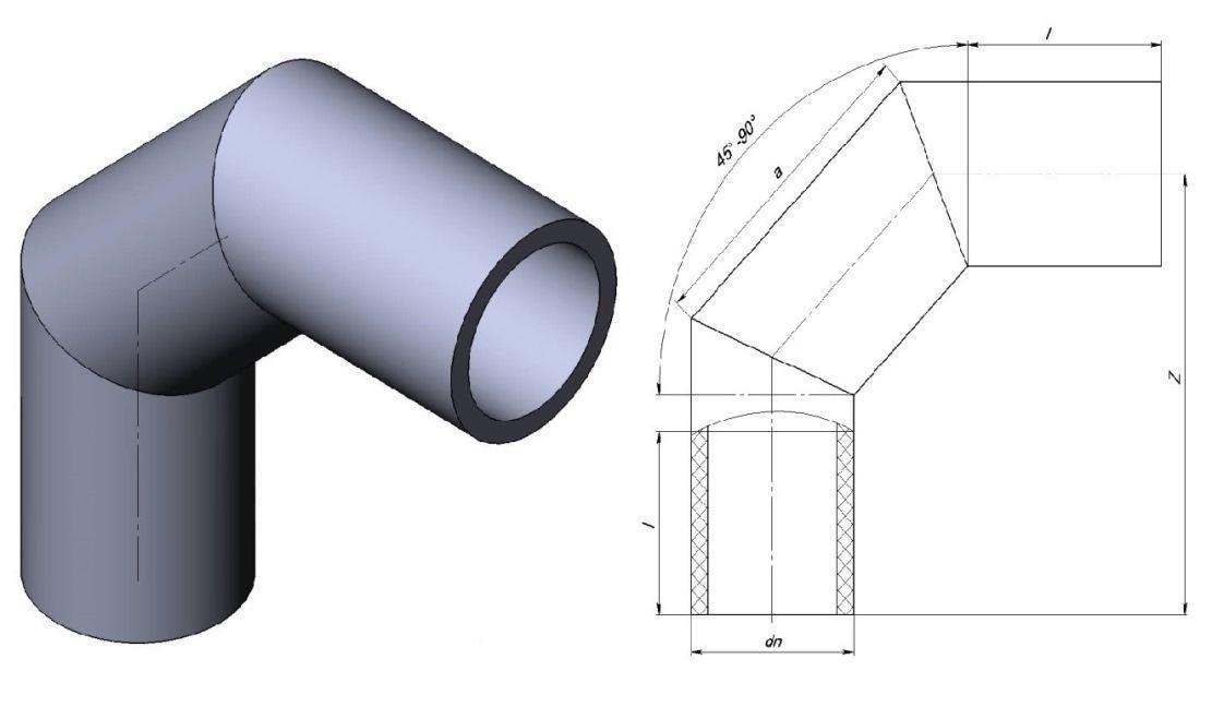 Как отрезать трубу под углом: лекало для резки, шаблон разметки, как резать срез