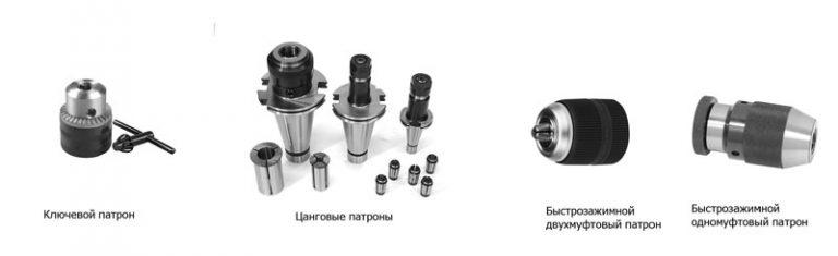 Сверлильные патроны: самозажимные, с конусом морзе, быстрозажимные - токарь