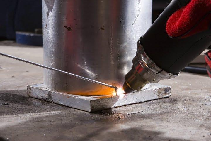 Сварка алюминия в домашних условиях: электродом и газовой горелкой