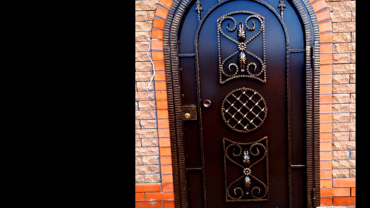 Кованые двери входные: разнообразие видов и их преимущества