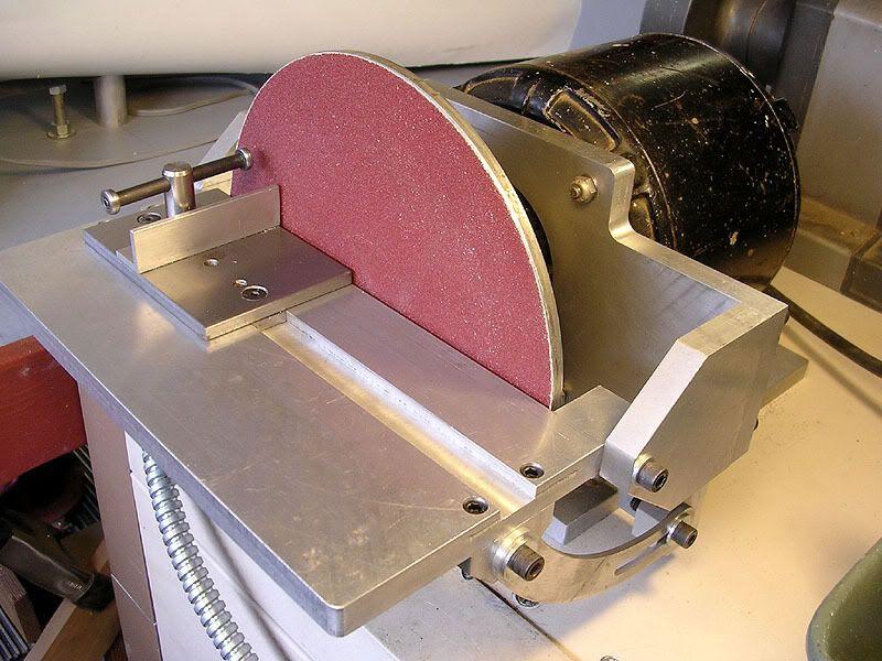 Самодельные ленточные и дисковые шлифовальные станки