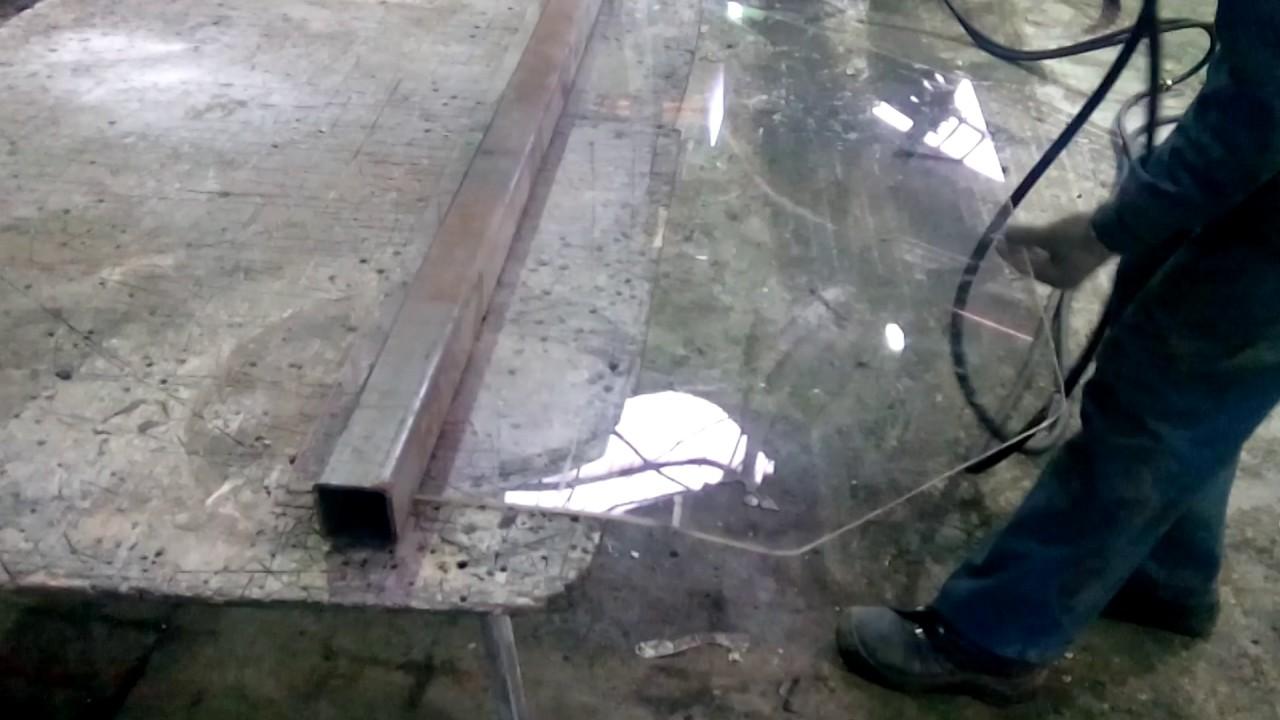 Как согнуть оргстекло - сгибание органического стекла