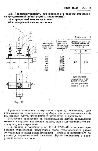 Настройка сверлильного станка на точность