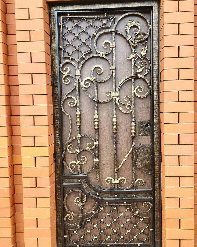 Металлические двери с ковкой - купить в москве по ценам производителя от 13500 рублей. продажа входных дверей с элементами ковки на заказ