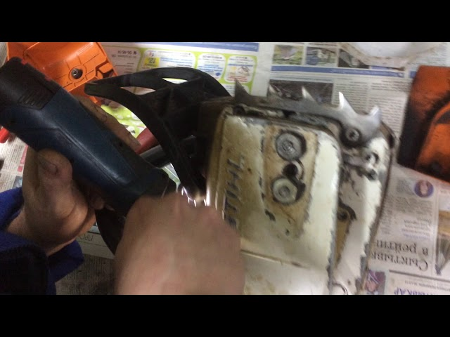 10 неисправностей бензопилы — устранение своими руками