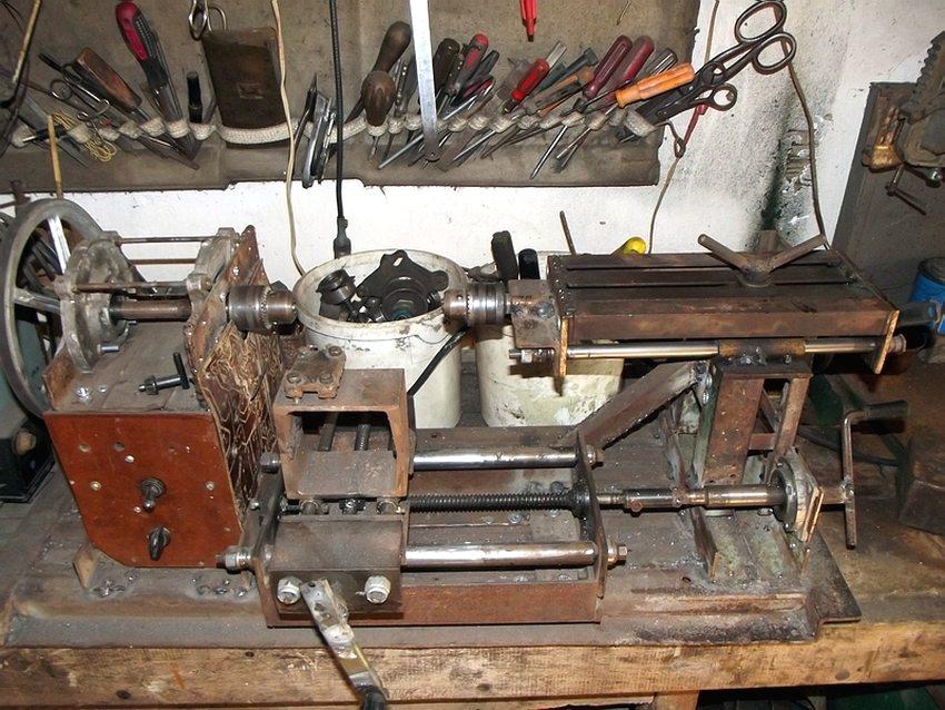 Токарный станок по металлу своими руками: чертежи и инструкция по сборке