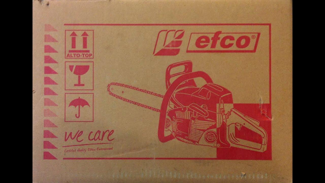 Бензопила efco 137-41 — бытовая модель с профессиональным уклоном