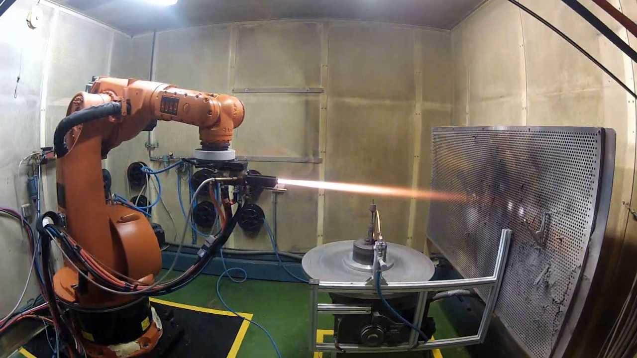 Плазменное напыление металла — оборудование, фото, видео
