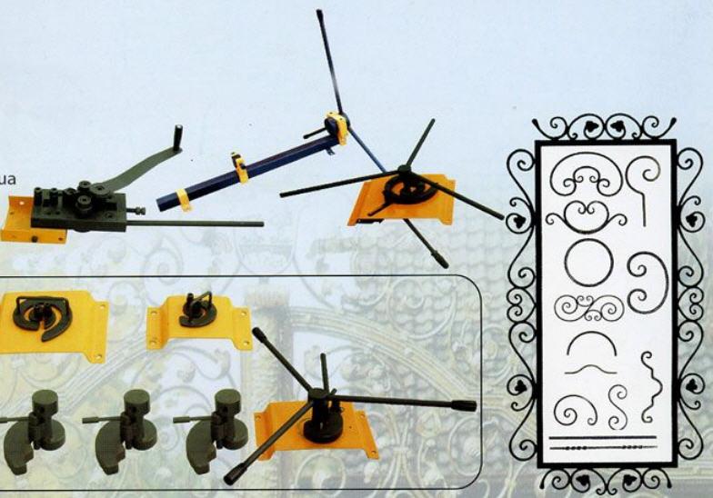 Ручные станки для холодной ковки металла, гибочное кузнечное оборудование: гнутик, улитка, волна, твистер, фонарик, глобус; сделать своими руками, купить