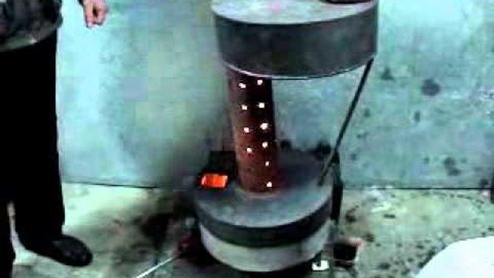 Самодельная печка на солярке для отопления гаража: разбор 3-х конструкций