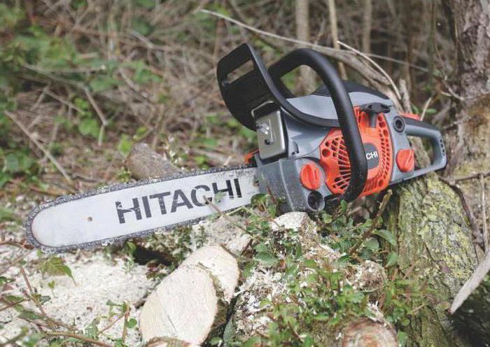 Обзор бензопилы Hitachi CS33EB